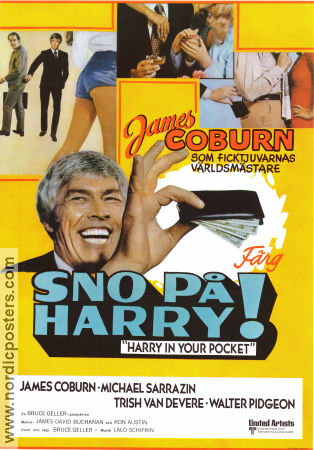 Harry in Your Pocket 1973 poster James Coburn