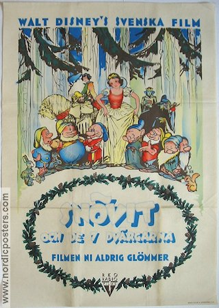 Snow White and the Seven Dwarfs 1938 Sn�vit