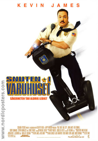 Paul Blart: Mall Cop 2009 Movie poster Kevin James