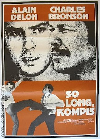 Adieu l'ami 1968 Movie poster Charles Bronson
