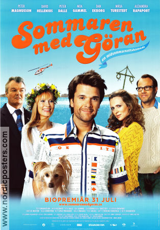 Sommaren med G�ran 2009 Movie poster Peter Magnusson
