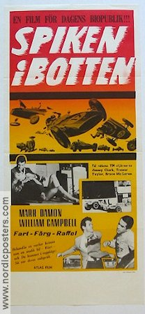 The Young Racers 1963 poster Mark Damon Roger Corman