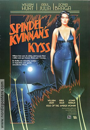 Kiss of the Spider Woman 1985 Movie poster William Hurt