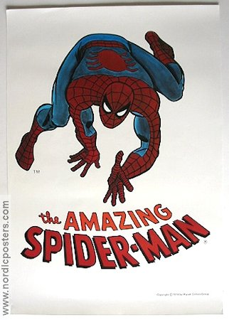Amazing Spider-Man 1974 poster