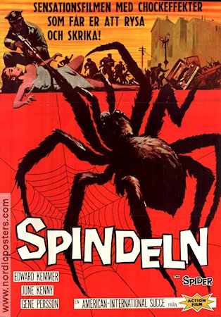 Earth vs the Spider 1961 Bert I Gordon Ed Kemmer Roger Corman