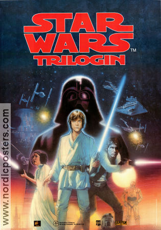 Star Wars Trilogin 1995 poster Mark Hamill George Lucas