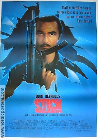 Stick 1985 Movie poster Burt Reynolds