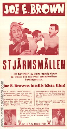 When's Your Birthday 1937 Movie poster Joe E Brown