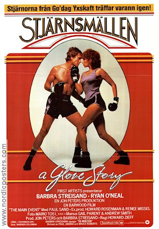 The Main Event 1979 Movie poster Barbra Streisand