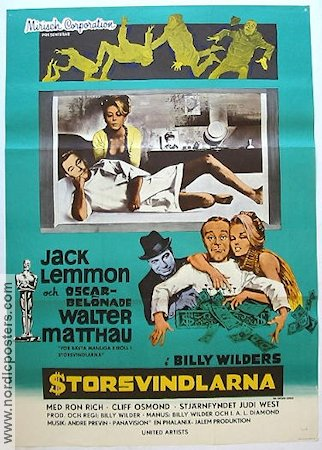 The Fortune Cookie 1967 poster Jack Lemmon Billy Wilder