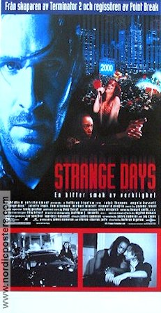 Strange Days 1995 Movie poster Ralph Fiennes
