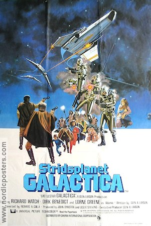Battlestar Galactica 1976 poster Richard Hatch