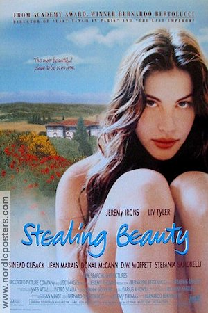 Stealing Beauty 1996 Movie poster Liv Tyler