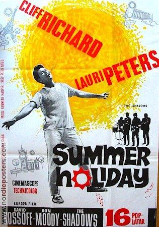 Summer Holiday Movie Poster 1963 Original Nordicposters