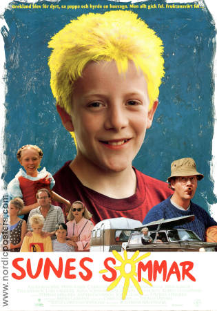 Sunes sommar 1993 Movie poster Andreas Hoffer