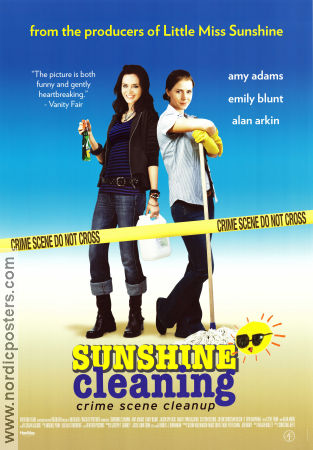 Sunshine Cleaning 2009 Movie poster Amy Adams