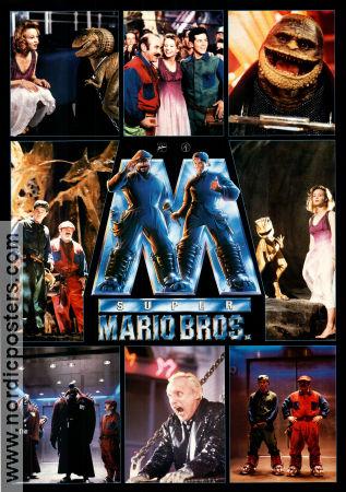 Super Mario Bros Poster 1993 Bob Hoskins Original