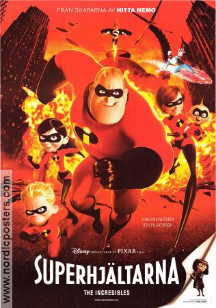 The Incredibles Poster 2004 Original