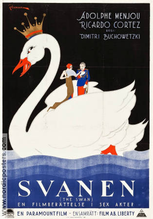 The Swan 1925 poster Frances Howard Dimitri Buchowetzki