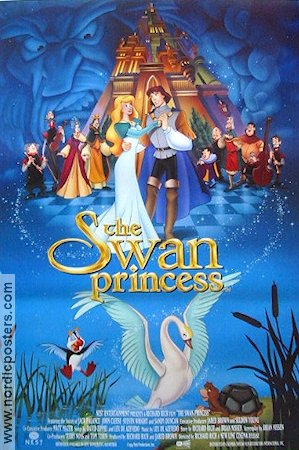 The Swan Princess 1994 poster Richard Rich