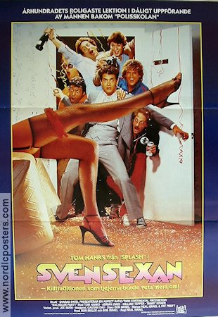 Bachelor Party 1984 poster Tom Hanks Neal Israel