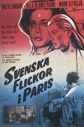 Svenska flickor i Paris 1962 Movie poster Anita Lindohf