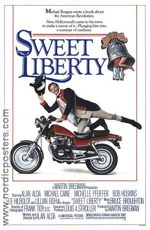Sweet Liberty 1986 poster Alan Alda