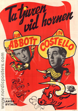 Mexican Hayride 1948 poster Abbott and Costello Charles Barton