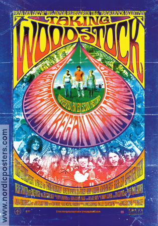 Taking Woodstock 2009 Movie poster Demetri Martin Ang Lee