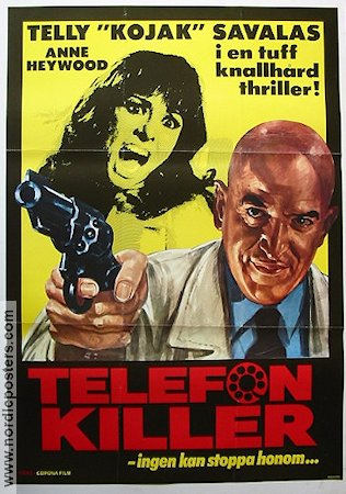 Assassino 1978 poster Telly Savalas