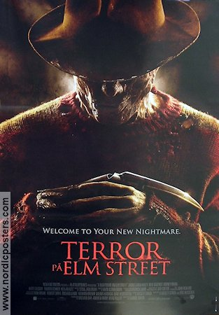 A Nightmare On Elm Street 2010 poster Jackie Earle Haley Samuel Bayer