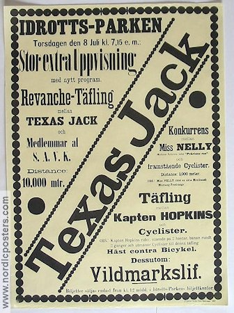 Texas Jack 1897 Poster
