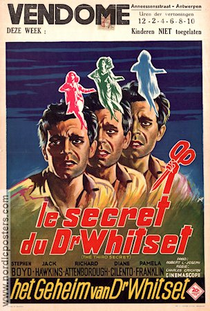 The Third Secret 1964 Movie poster Stephen Boyd