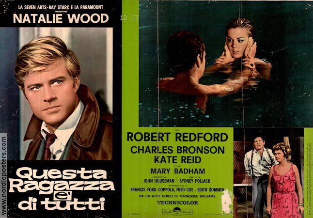 This Property is Condemned 1966 poster Robert Redford