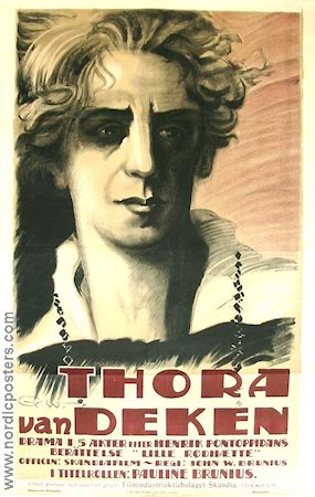 Thora van Deken 1920 Movie poster Pauline Brunius John W Brunius