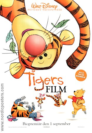 Tigger the Movie 2000 poster Nalle Puh