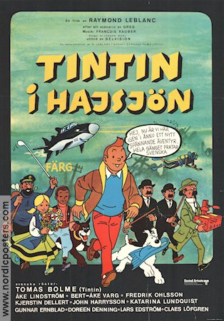 Tintin and the Lake of Sharks 1973 Tintin