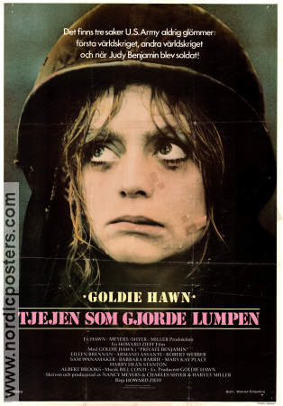 Private Benjamin 1980 poster Goldie Hawn Howard Zieff