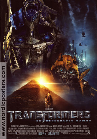 Transformers: Revenge of the Fallen 2009 poster Shia LaBeouf Michael Bay