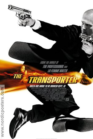 The Transporter 2003 poster Jason Statham