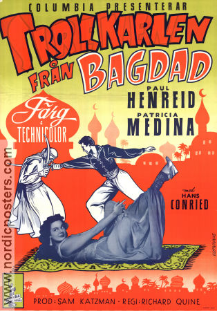 Siren of Bagdad 1953 poster Paul Henreid Richard Quine