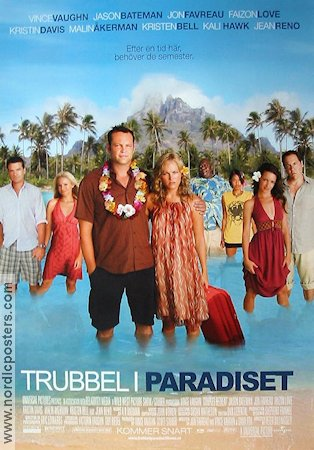 Couples Retreat 2009 Movie poster Vince Vaughn