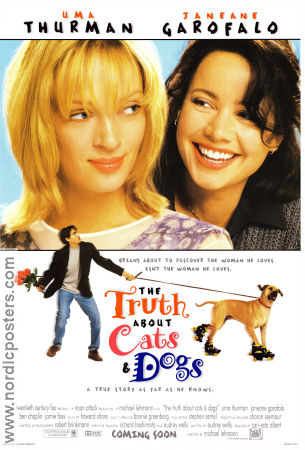 The Truth About Cats and Dogs 1996 poster Uma Thurman