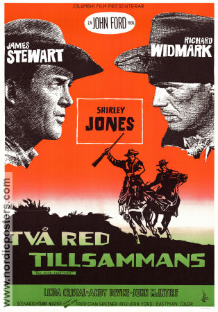 Two Rode Together 1961 John Ford James Stewart Richard Widmark