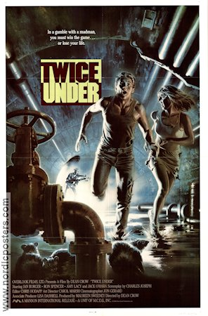 Twice Under 1988 Movie poster Ian Borger