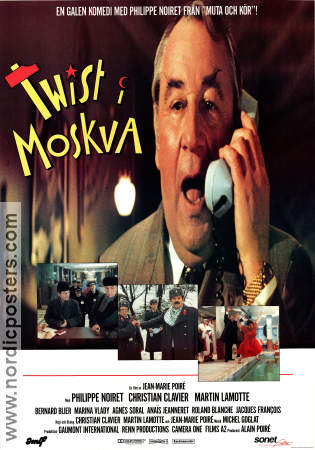 Twist again a Moscou 1986 poster Philippe Noiret