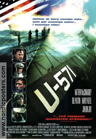 u571 movie poster 2000 original nordicposters