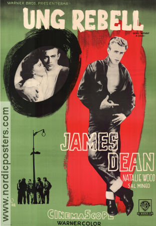 Rebel Without a Cause 1955 poster James Dean Nicholas Ray