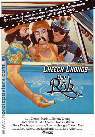 Up in Smoke 1978 poster Cheech and Chong