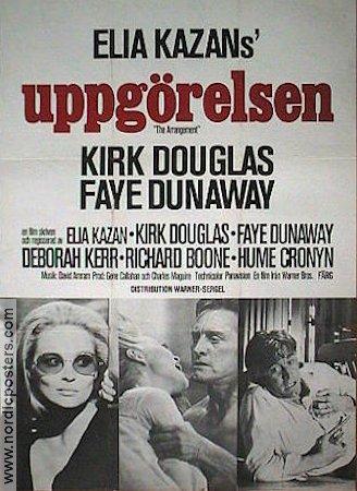 The Arrangement poster 1969 Kirk Douglas original 70af8059a2941